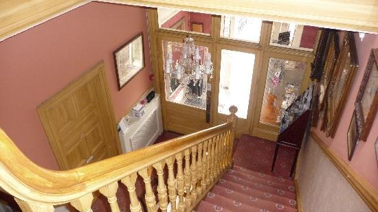 Barony House: Escalera interior