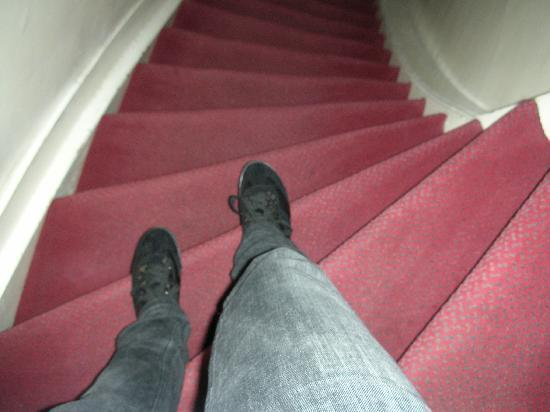 Hotel d'Amsterdam: Stairs