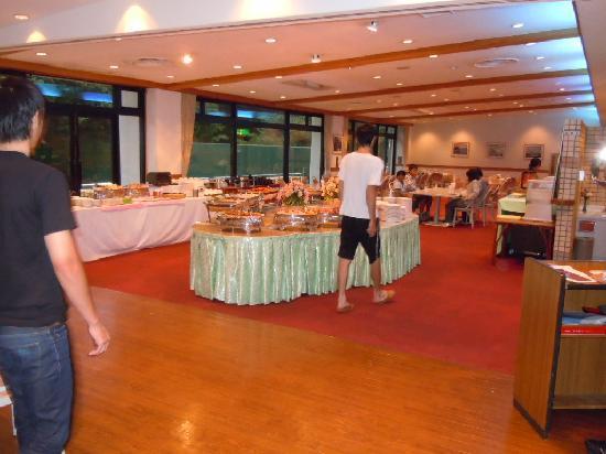 Izu Inatori Sports Villa: ホテル夕食