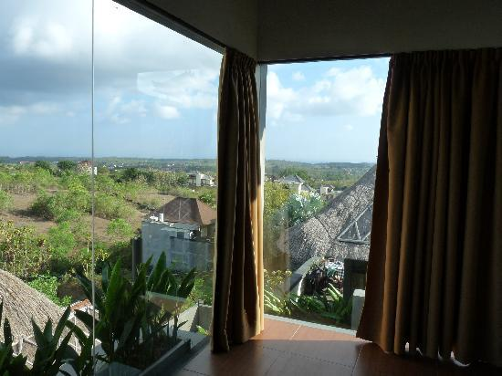 Bali Golden Elephant: View from upstairs bedroom