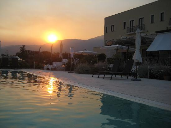 Formia, Italia: un bel tramonto