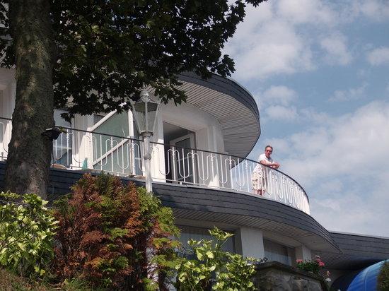 Hotel Seehof: gr. Balkon