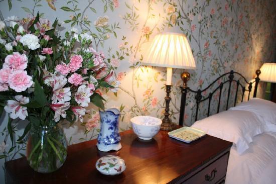 Lazonby Hall: Blue bedroom