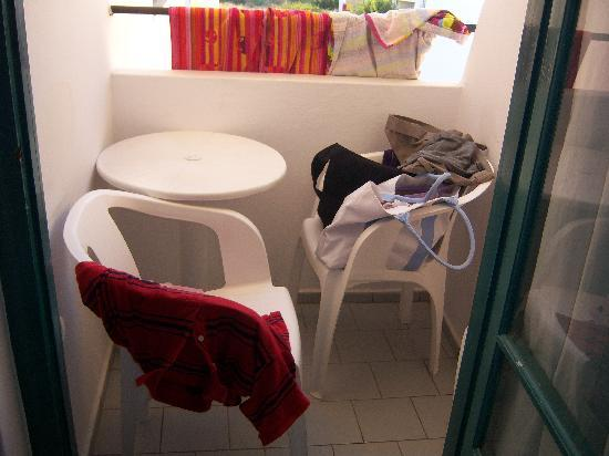 "Hotel Antinoos : l'""ampio"" balcone"