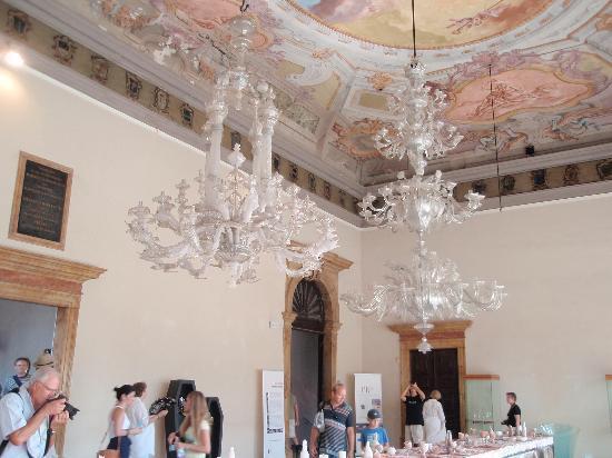 Museo del Vetro: Hauptsaal