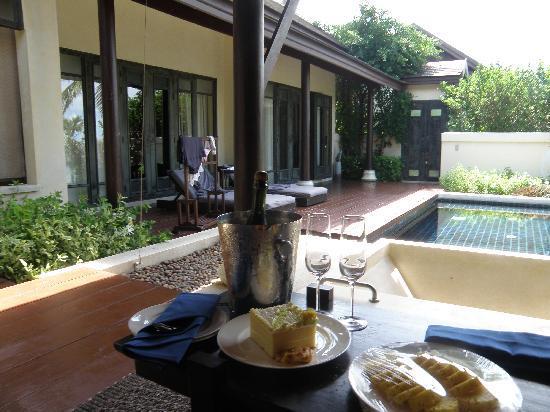 อนันตรา ลาวาน่า รีสอร์ท แอนด์ สปา: view of the pool villa