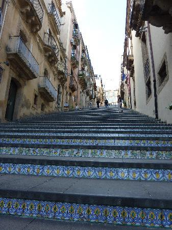 Caltagirone, Italia: intricate artwork