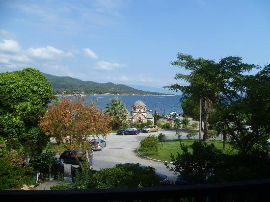 Olympiada, Grecia: Bedroom view