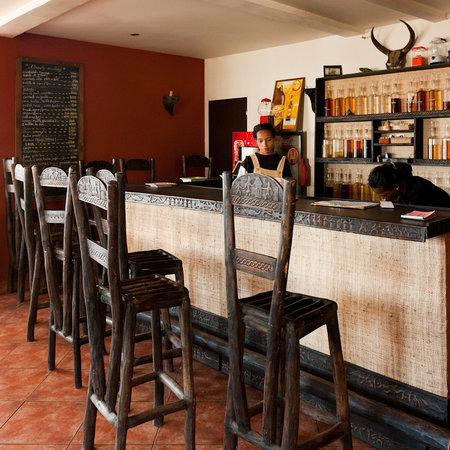 Bar de l'hotel Niaouly