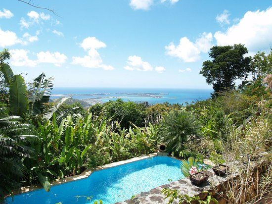 Villa Rainbow: Stunning views on the Caribbean