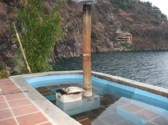La Casa del Mundo Hotel: Hot Tub Casa del Mundo