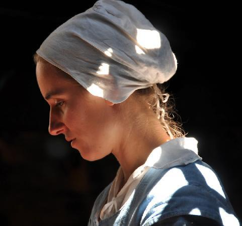 Mayflower II: Portrait einer Siedlerin 1622