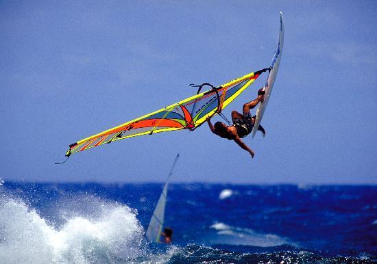 Hotel Villa Taina: Windsurfing