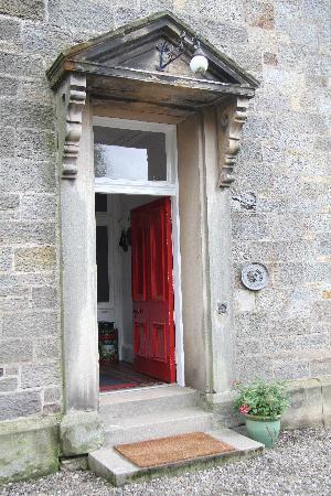 Bankhead House: The front door