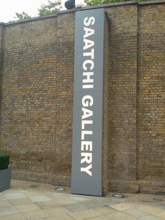 Saatchi Gallery: Entrada