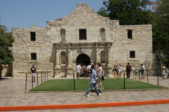 The Alamo: the mission building