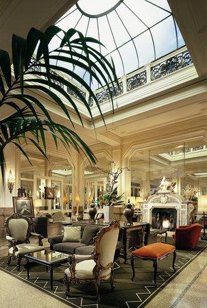 Hall Grand Hotel Et De Milan Picture Of Grand Hotel Et De Milan