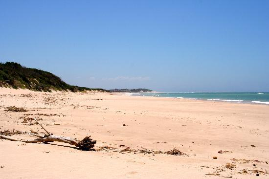 Paradise Beach : Km long fantastic beautiful sand beach, completely unspoiled