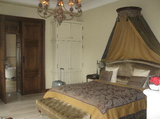 Château d'Urspelt : Suite: de slaapkamer