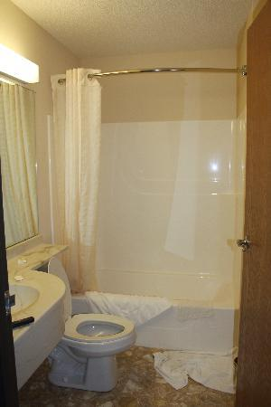 Monroe Heights Hotel: Bathroom