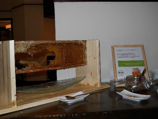 """โรงแรมมาริออทท์ มิวนิก: Honey produced by """"Marriott bees"""""""