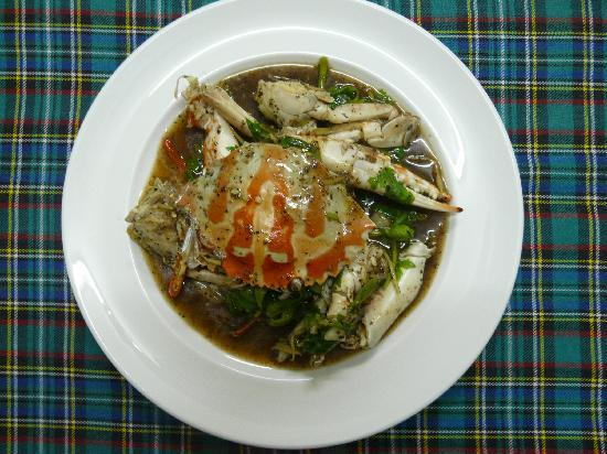 Lucky Tom's : Crabs w.black pepper