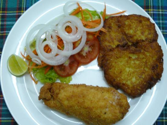 Lucky Tom's: Chicken gordonbleu