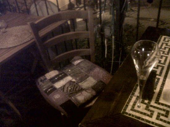 Lillo Tatini: on the terrace