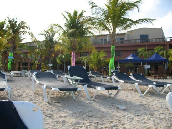 Eden Beach Resort: Playita del Hotel