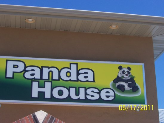 Panda House Chinese Restaurant: Outside of the building