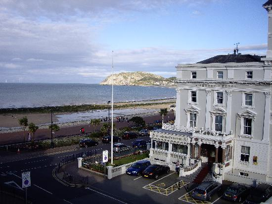 Ambassador Hotel: view from bedroom
