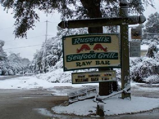 Rus S Seafood Grill Snow In Murrell Inlet