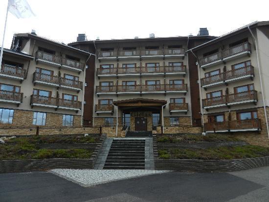 Santa's Hotel Tunturi : Eingang Superior Gebäude