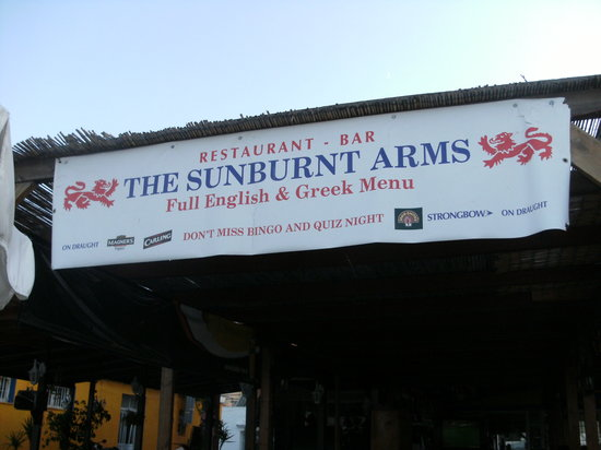 The Sunburnt Arms: sunburnt arms