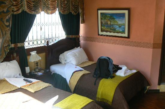 """Sol de Quito Hotel: Inside of """"Esmereldas"""" Room"""
