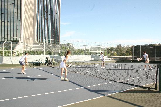 Grand Hotel Tijuana: Canchas de Tenis