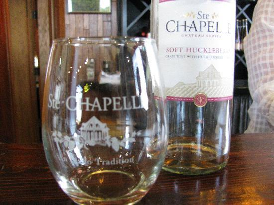 Ste. Chapelle Winery : Our stemless glass
