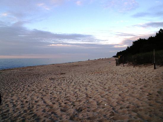 Baginscy SPA: La spiaggia più vicina (300 mt)