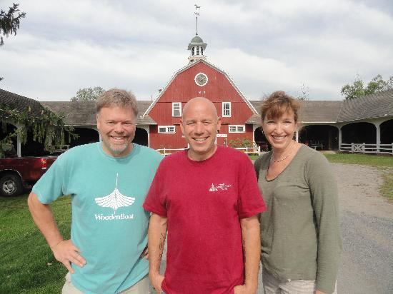 Inn at Mountain View Farm: Mike, the chef and trail master!