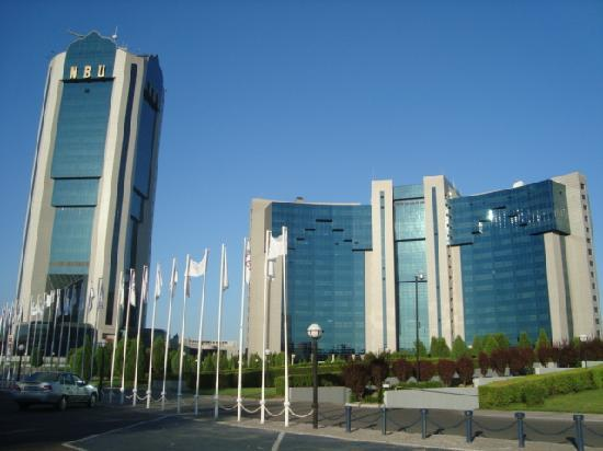 International Hotel Tashkent: Front view  of  hotel