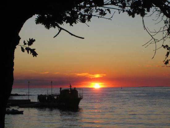 Hotel Laguna Mediteran: Sunset