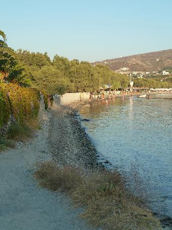 Parian Village: The access to the beach from hotel