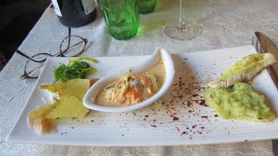 La Malle aux Epices : le plat de poisson