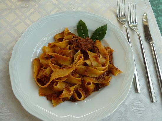 Ristorante La Casina: Wild boar pasta