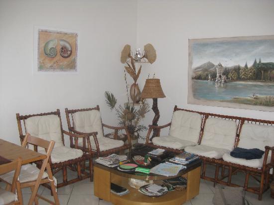 Nautilus Bed & Breakfast: Wohnzimmer