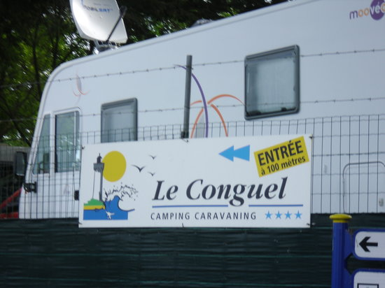 Camping Le Conguel : camp