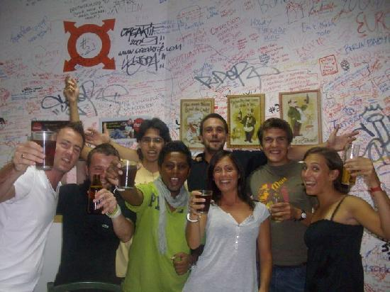 Home Lisbon Hostel: Every night is a party night...