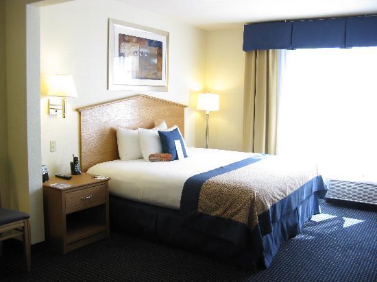 Wingate by Wyndham Spokane Airport: Spokane airport Wingate Inn King bed
