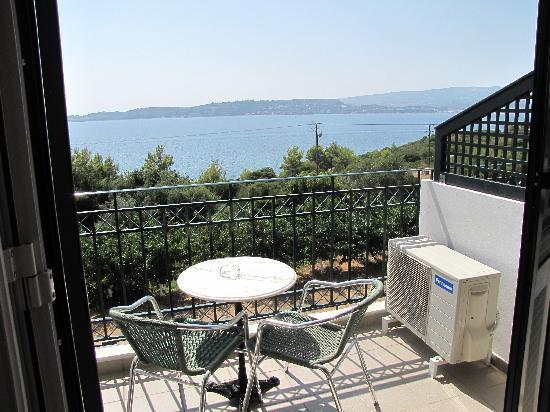 Limanaki Hotel: Hotel Room Sea View
