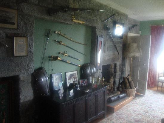 Kilcolgan Castle: Library